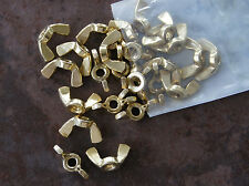 "BRASS Wing Nuts - 1/4"" - 20 - 25 CT"
