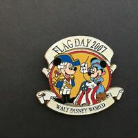 WDW - Flag Day 2007 - Mickey and Minnie Mouse - LE 1500 Disney Pin 54251