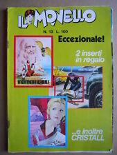 IL MONELLO n°13 1972 Rahan figlio tempi selvaggi Cristall + Figurine AUTO [G392]
