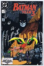 Batman #437 Year 3 Signed w/COA George Perez VF/NM 1989 DC