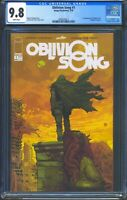 Oblivion Song 1 (Image) CGC 9.8 White Pages Premiere issue Robert Kirkman story