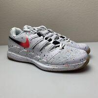 New Nike Air Zoom Vapor X HC Tennis Shoes AA8030 108 White Lava Confetti Sz 9.5