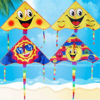 Huge 80cm Smile Face Single Line Novelty Expression Kites Children's Gift YEZY