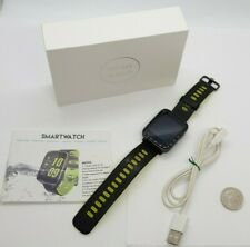 XGODY Smart Watch IP68 Waterproof Phone Mate Touch Screen BT-Calling Heart Rate