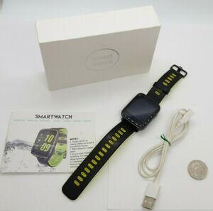 XGODY Smart Watch IP68 Waterproof Phone Mate Touch Screen BT-Calling Heart Rate