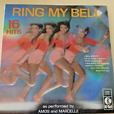 AMOS AND MARCELLE RING MY BELL 16 HITS K-TEL KISS1070 VG++++ 12'' 1979 RARE