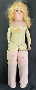 Armand Marseille Doll - Porcelain Leather - Antique