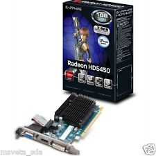 SAPPHIRE ATI AMD Radeon HD 5450 1GB DDR3 PCI-E Video Card Low Profile HDMI VGA