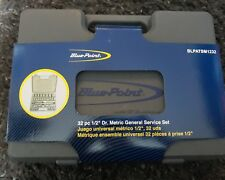 Blue point 1/2 dr drive 32pc Socket set NEW sold by snap on service tools BNIB