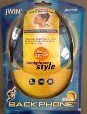 Set of 2 jWIN JB-EP22 Headphone / Neckband Style / New / Free Shipping
