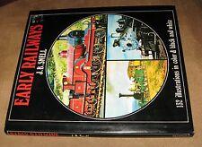Early Railways JB Snell B&O locomotive Train Railroad narrow-gauge HBDJ 1st 1972
