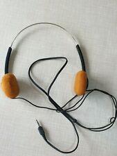 🎧 Rare Vintage SONY MDR-010  Stereo Dynamic Headphones for Walkman JAPAN