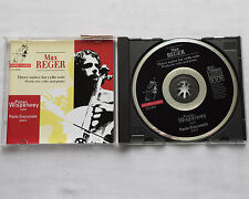 Max REGER Three suites for cello solo/Works.. WISPELWEY/GIACOMETTI CD CHANNEL