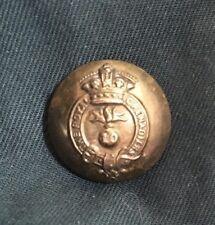 10th REGIMENT ROYAL GRENADIERS CANADA large Button R.R.C. WWI CEF Canadian WW1