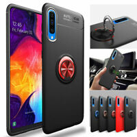 For Samsung Galaxy Note 10 Plus S10 A50 A70 A30 Magnetic Ring Holder Case Cover
