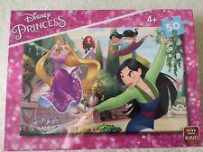 Walt Disney - Prinzess Puzzle [Mulan, Rapunzel, Jasmin, Merida] 30X20cm 50 Teile
