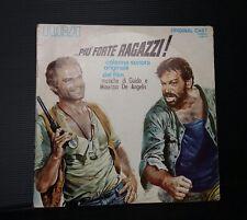 DISCO VINILE 33 GIRI LP PIU' FORTE RAGAZZI colonna sonora originale Bud Spencer
