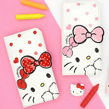Genuine Hello Kitty Dot Standing Flip Case iPhone X/XS/XS Max/XR Case 3 Types