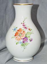 Vase Höchst, Blumen, handgemalt