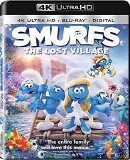 SMURFS THE LOST VILLAGE(4K ULTRA HD+BLU-RAY+DIGITAL HD)W/SLIP COVER NEW