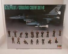 Hasagawa U.S. Pilot/ Ground Crew Set: B - NIB