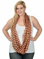 New Womens Fashion Light Weight Wave Pattern Infinity Scarf Circle Loop Scarves