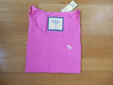 NWT Abercrombie & Fitch Blake Tee Shirt Pink Small By Hollister