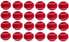 Nivia Red Heavy Cricket Hard Tennis Balls (Pack of 24)