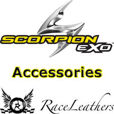 SCORPION REPLACEMENT SILVER VISOR TO FIT ALL EXO 1000/500/490 MOTORCYCLE HELMETS