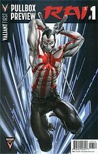 Valiant First Pullbox Preview - Rai Vol 2 #1 Rare 2014 Promo Giveaway Nm