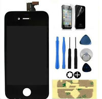 DISPLAY LCD +VETRO TOUCH SCREEN APPLE IPHONE 4S GRADE AAA+ RETINA NERO SCHERMO