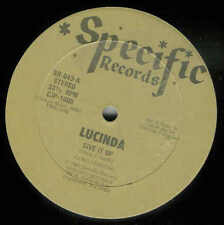LUCINDA - Give it Up / Specific Rec. - RARE Maxi !!