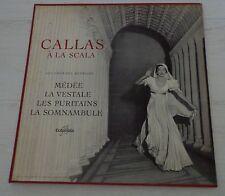 Maria Callas Columbia LP FCX 739 A La Scala Dowel Spine Sleeve