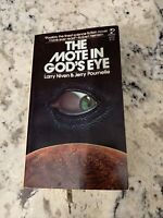 THE MOTE IN GOD'S EYE by Larry Niven & Jerry Pournelle/1st edition 1st Print PB