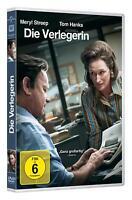 Die Verlegerin [DVD/NEU/OVP] von Steven Spielberg mit Tom Hanks, Meryl Streep,