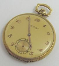 Ulysse Nardin Locle Suisse Gold Pocket Watch