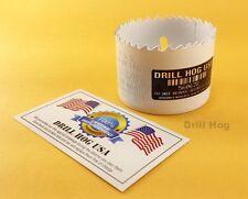 """DrillHog 2-1/16"""" Bi-Metal Hole Saw 2-1/16"""" Cutter HI-Moly Lifetime Warranty USA"""