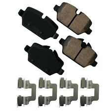 Disc Brake Pad Set-Euro Ultra Premium Ceramic Pads Rear Akebono EUR1554
