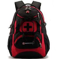 """SWISSGEAR Mens Women Waterproof Travel Business 15.6"""" Laptop Backpack School Bag"""