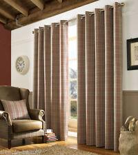 Ashley Wilde Polyester Tartan Curtains & Pelmets