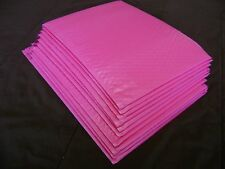 10 Hot Pink 10x15 Bubble Mailer Self Seal Envelope Padded Protective Mailer