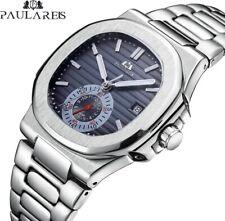 Montre Automatique Mécanique Paulareis Homme Bracelet Date Cadeau Luxe Neuf FR