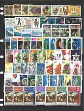 Cayman Islands 16 Complete Sets of Stamps (70 Values) All Mint Unhinged