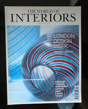 WORLD OF INTERIORS MAGAZINE MARCH 1999