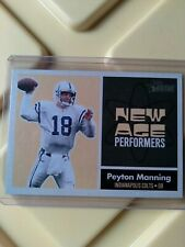 New listing 2001 Topps Heritage Peyton Manning New Age