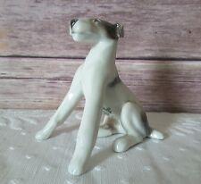 Vintage Rosenthal Fox Terrier Schnauzer Sitting Rare Porcelain Figurine
