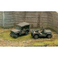 Italeri Willys Jeep x2 7506 militaire 1:72 Modèle Kit