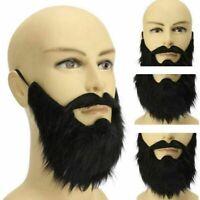 Goatee Beard of Evil Wizard Moustache Emperor Facial Hair Fancy Dress Costume