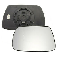 Auto Driver Side Clear Mirror Glass Heated For Jeep Grand Cherokee 2005-2010 US
