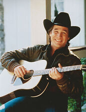 CLINT BLACK 8 X 10 PHOTO WITH ULTRA PRO TOPLOADER
